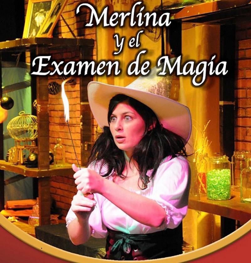 MERLINA Y EL EXAMEN DE MAGIA